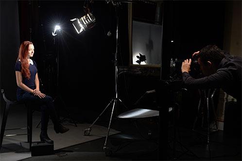 Atelier prise de vue - Formation Photographe Studio Harcourt