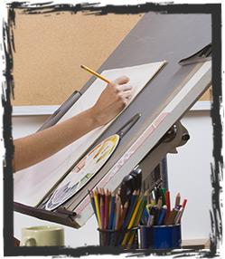 Option ateliers - Formation graphisme et dessin