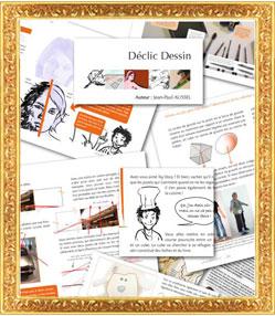 Option Déclic dessin - Formation décoration et design