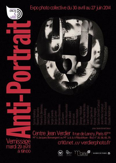 Exposition Anti-portrait Marie Julliard, ancienne élève de Lignes et Formations
