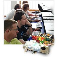 Méthode de formation en graphisme : les ateliers