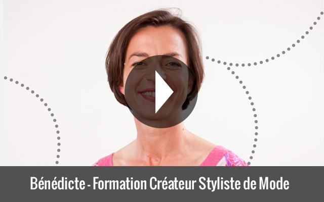 Bénédicte - Formation Créateur Styliste de Mode