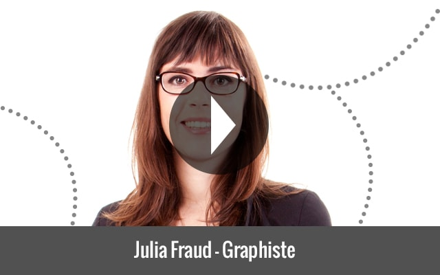 Julia Fraud, formatrice en graphisme