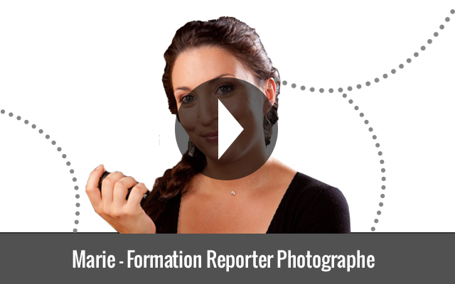Marie - Formation Reporter Photographe
