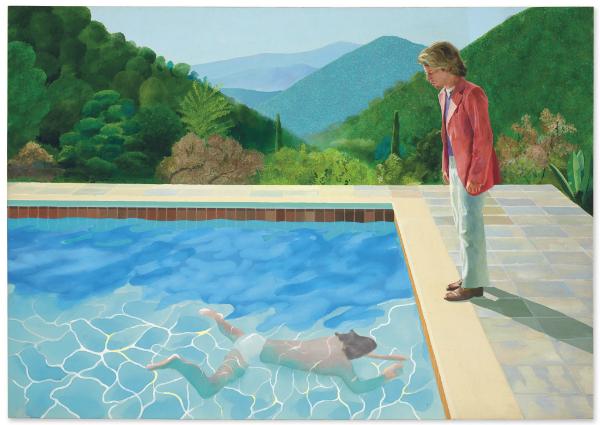 Avec la vente de la peinture « Portrait of an Artist (Pool with two figures) » pour 93 millions de dollars, David Hockney bat un nouveau record.