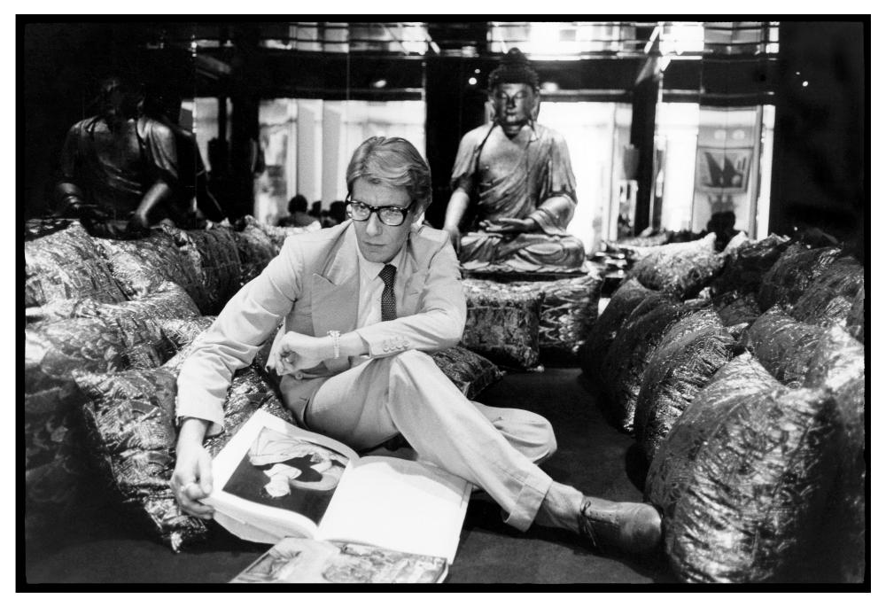 Inspiration majeure du couturier, l'Asie est mise à l'honneur par le Musée Yves Saint Laurent
