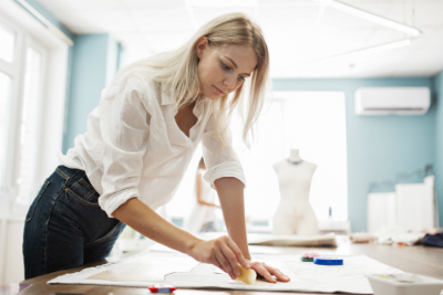 Découvrez la formation cap métiers de la mode - vêtement flou de Lignes et Formations