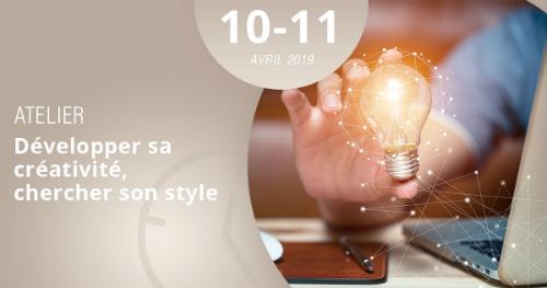 Apprenez à développer votre créativité grâce à l'atelier de Lignes et Formations, les 10 et 11 avril 2019 !