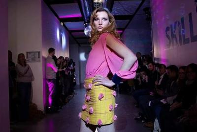 Partez à la rencontre de Chelsea Fretin, élève créatrice-styliste de Lignes et Formations, élue meilleure élève de l'atelier défilé 2018.