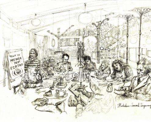 Découvrez le parcours et le travail de Somsack Sengsavang, étudiant en formation Illustrateur chez Lignes et Formations.